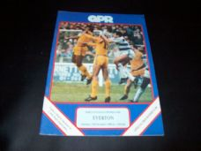 Queens Park Rangers v Everton, 1988/89